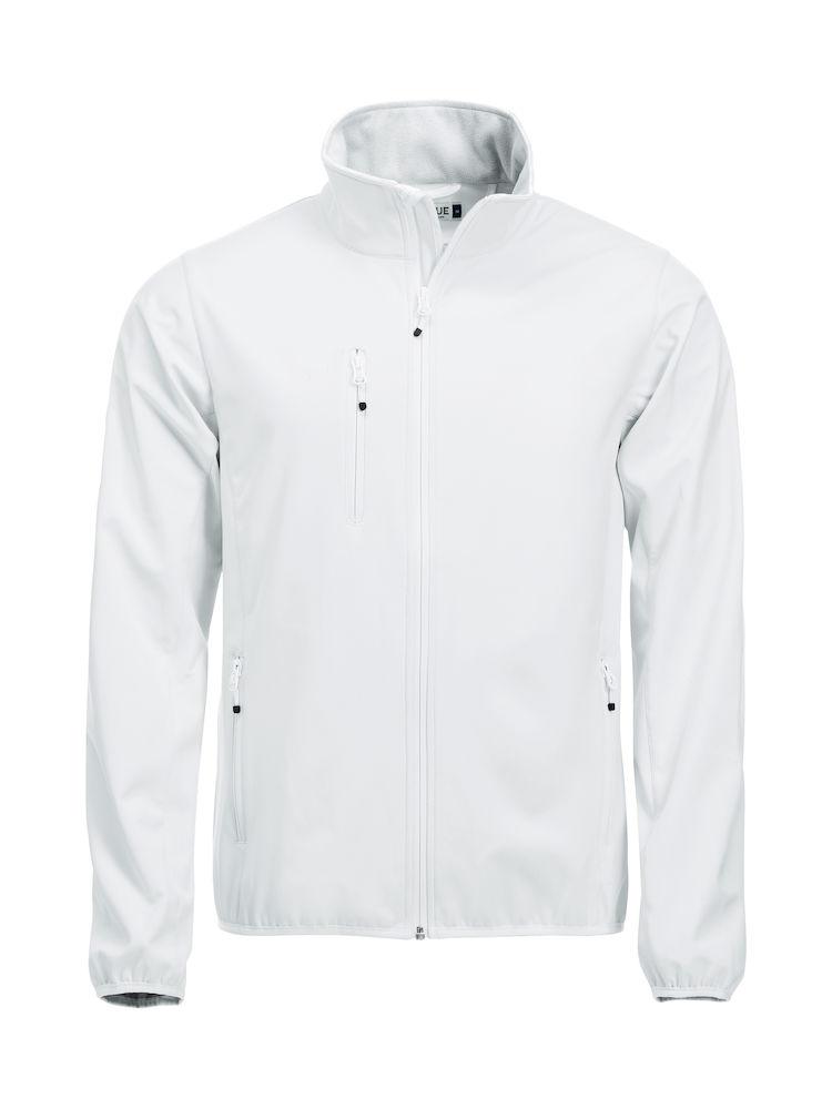 0be73b0b Softshell-jakke Clique Basic, 00 hvit