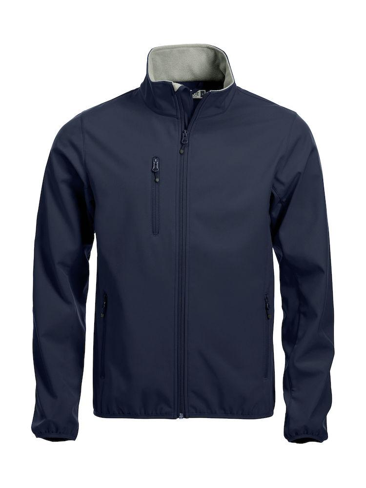 79be3c4a Softshell-jakke Clique Basic, 580 mørk marine