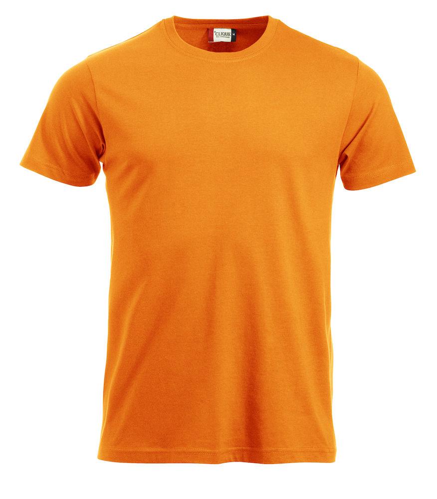 T-skjorte New Classic-T 029360, Visibility Oransje 170