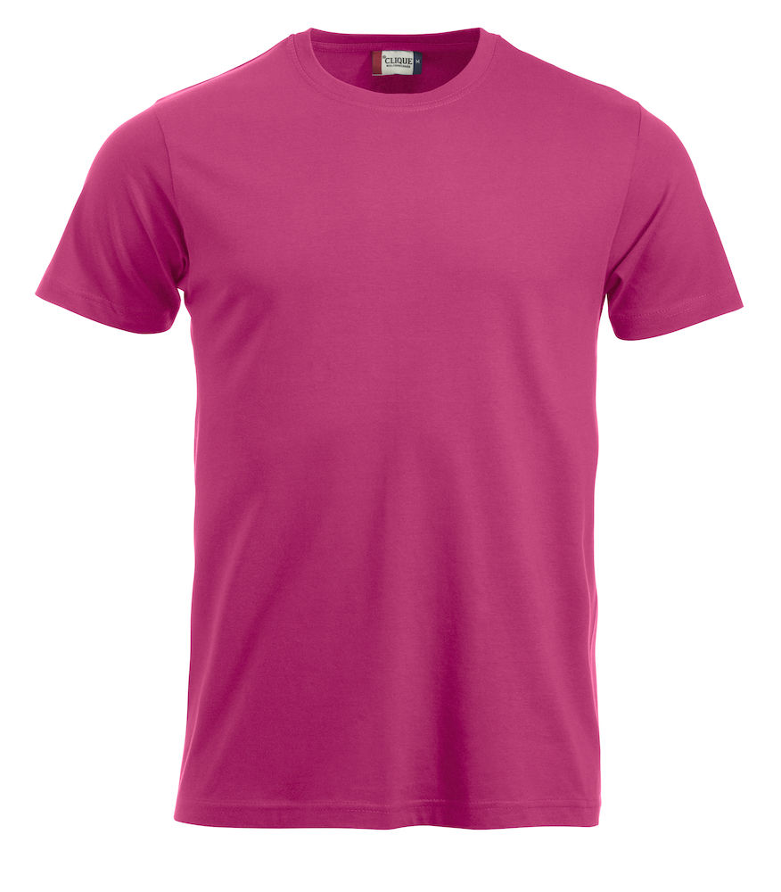 T-skjorte New Classic-T 029360, Klar Cerise 300