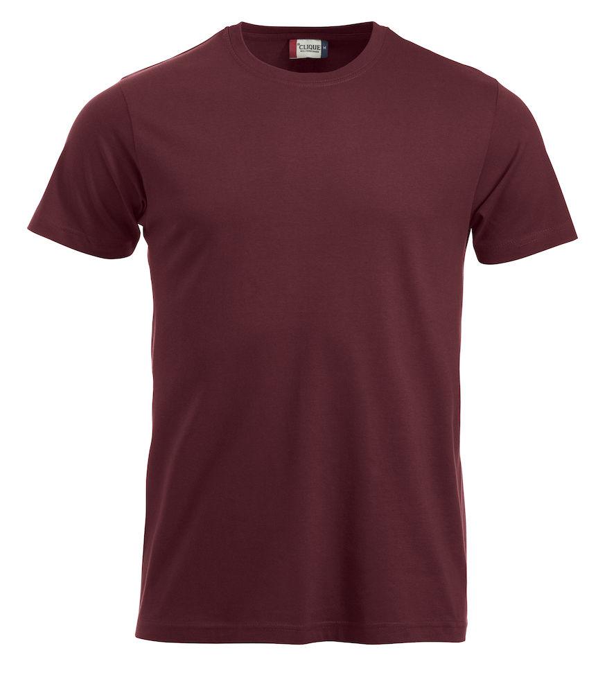 T-skjorte NewClassic-T 029360,_burgunder 38