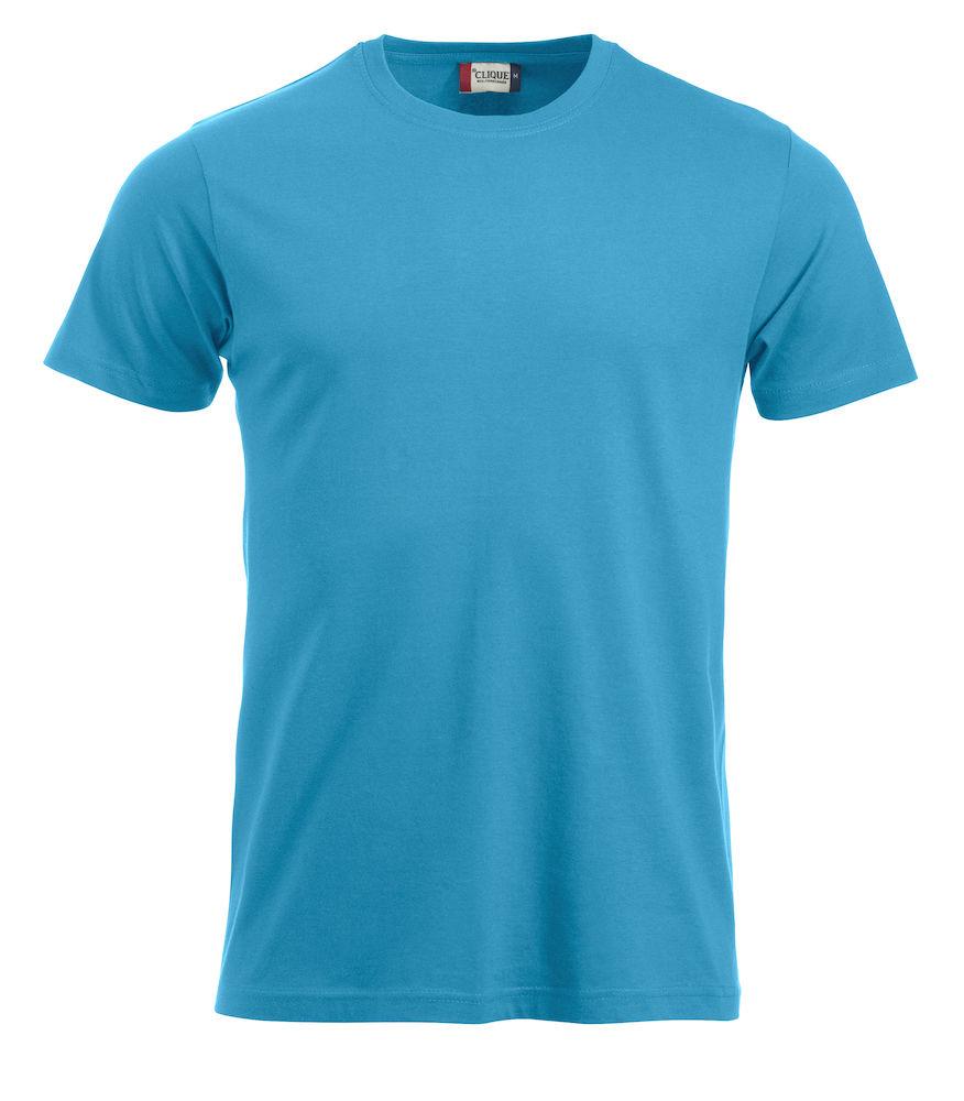 T-skjorter Med Logo New Classic-T 029360,_turkis 54