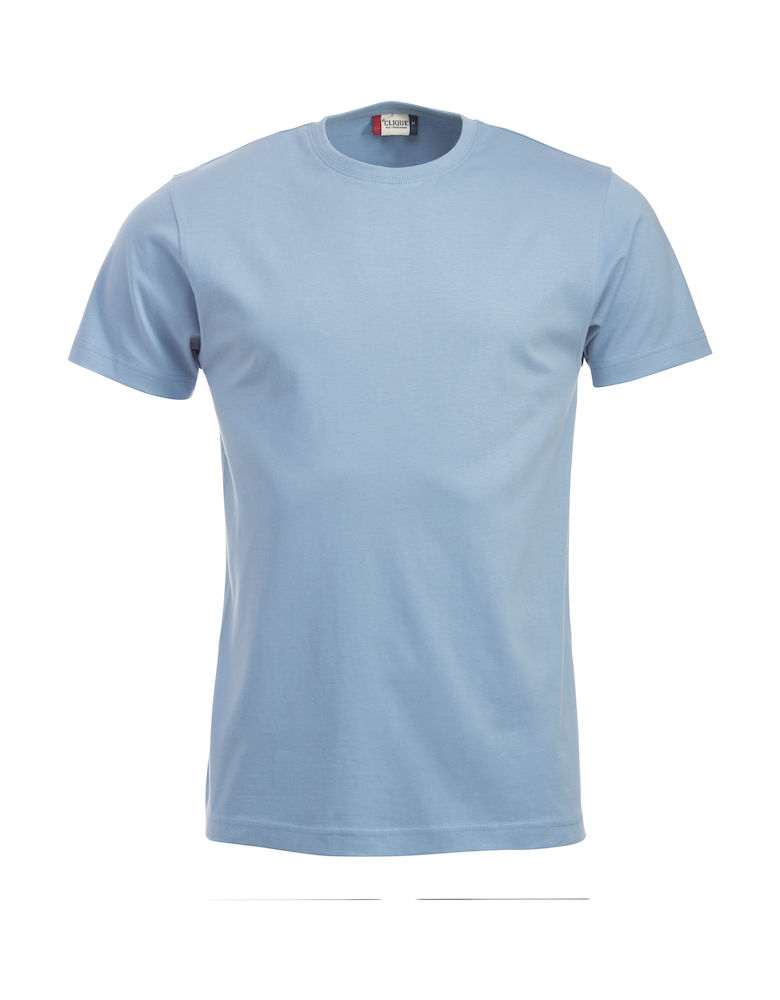 T-skjorte New Classic-T 029360, Lyseblå 57