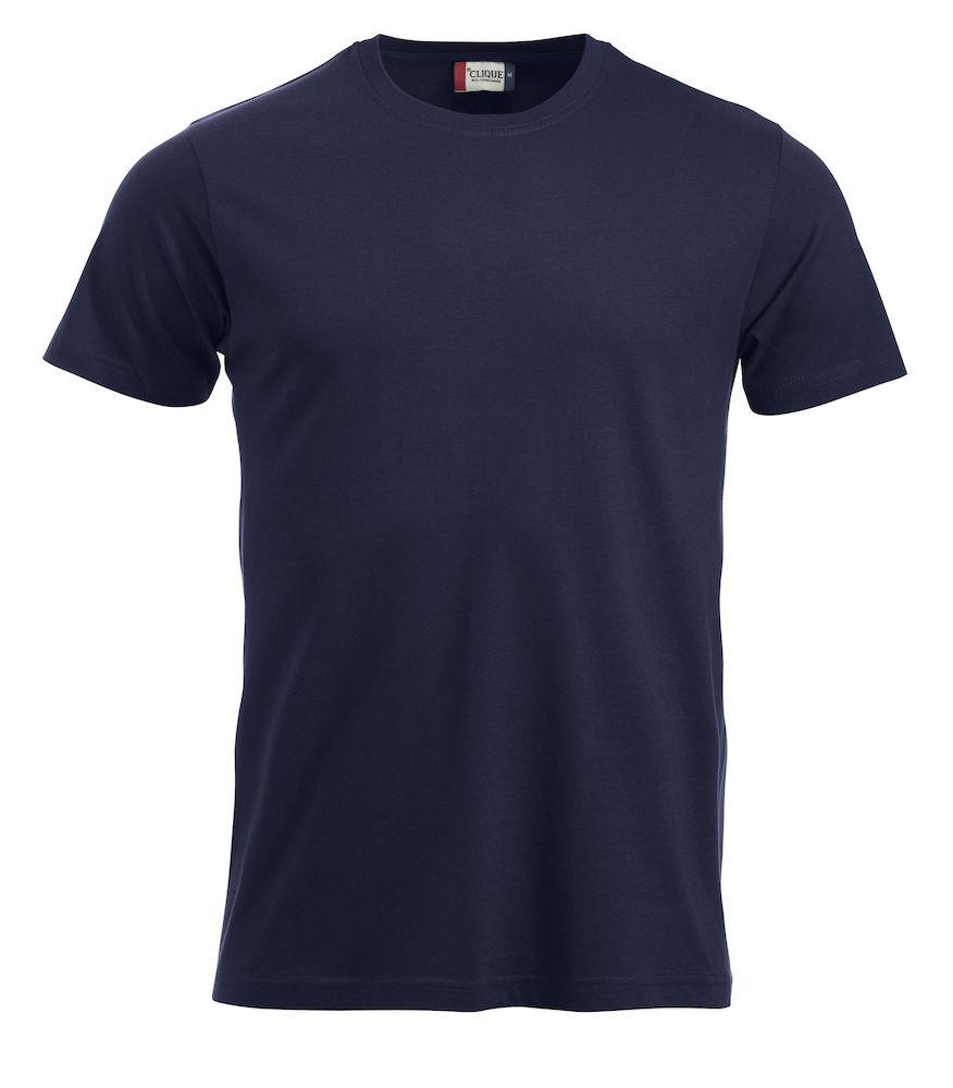 T-skjorte New Classic-T 029360, mørk marine 580