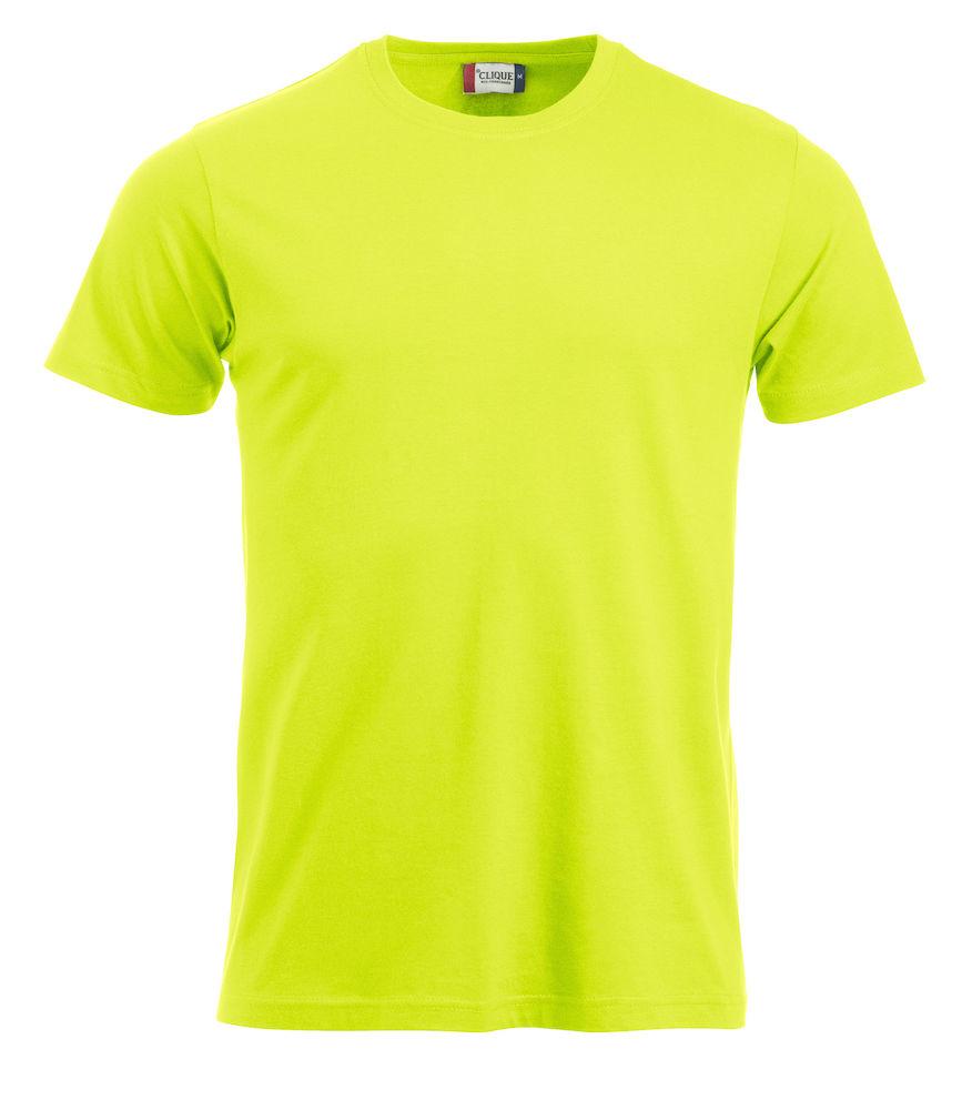 T-skjorte New Classic-T 029360, visibility grønn 600