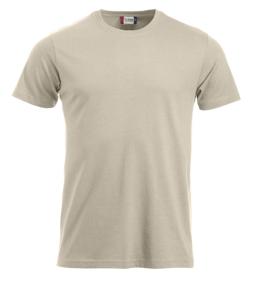 T-skjorte New Classic-T 029360, lys beige 815