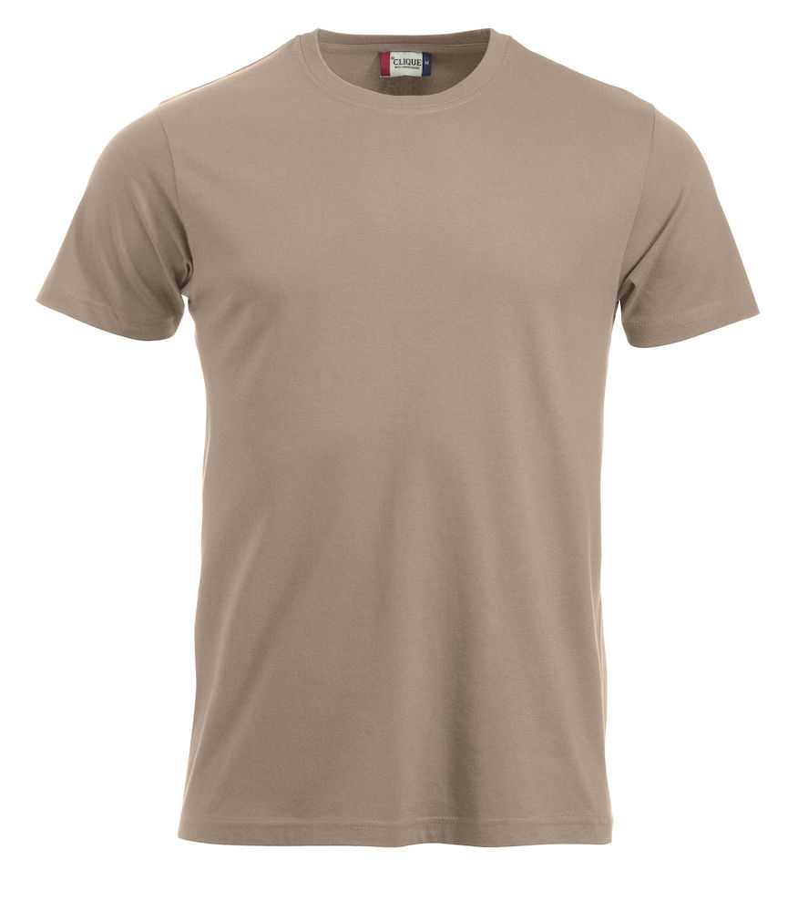 T-skjorte New Classic-T 029360, caffe latte 820
