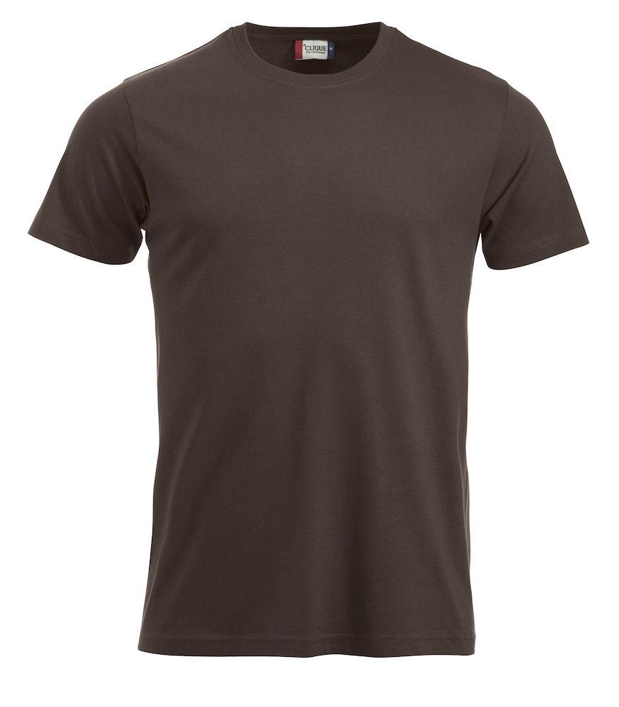 T-skjorte New Classic-T 029360, Mørk Mokka 825