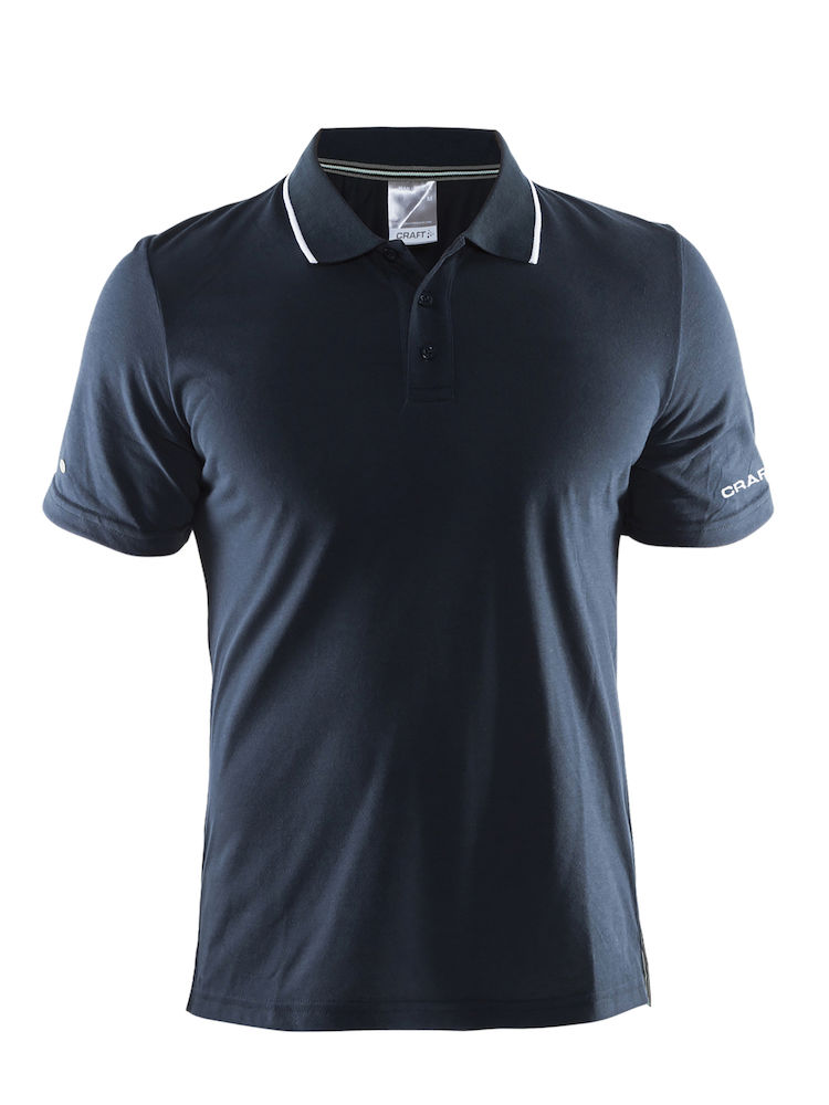 a5c50759 Pique Craft Polo shirt in-the-zone - Avseth