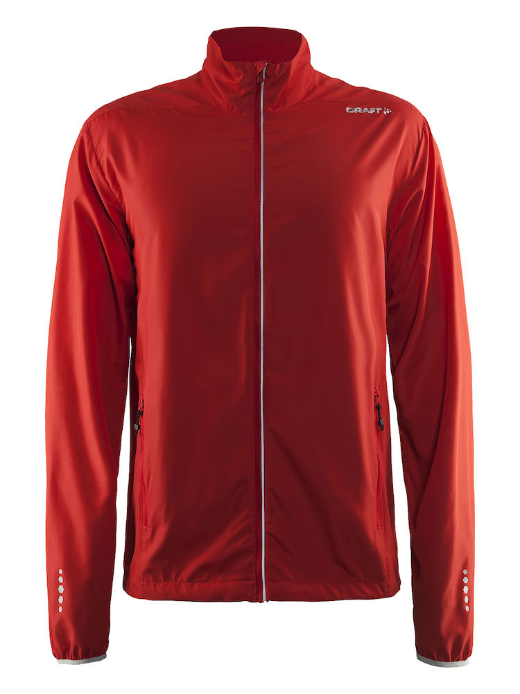 Craft Mind Block Jacket, Bright Red
