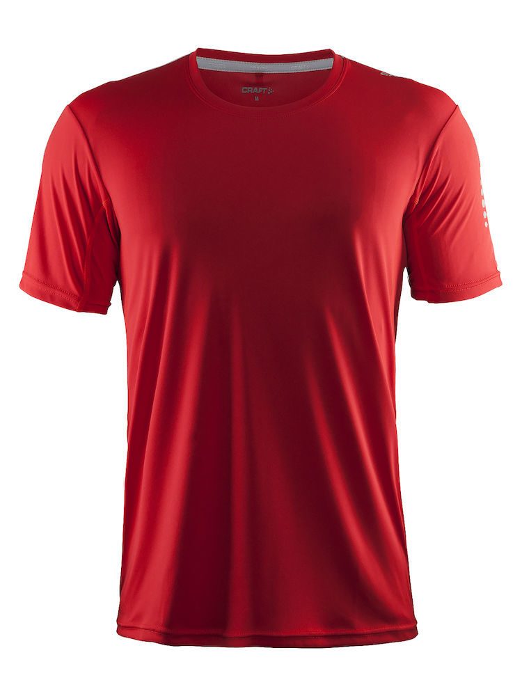Craft Mind SS Tee Man, Bright red