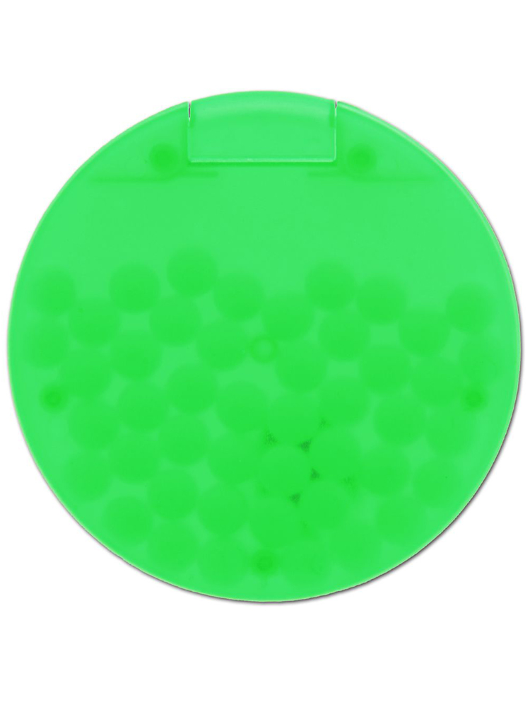 Mintdrops Med Logo, Rund Eske, Grønn