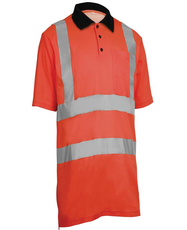 Poloskjorte Synlighet Wenaas, Rød