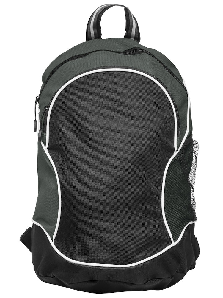 Ryggsekk Clique Basic Backpack, Sort med grått