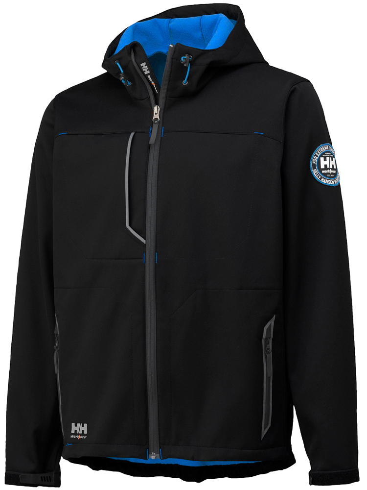 Helly Hansen Leon Jacket, Black&Cobalt