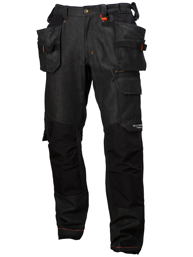 Helly Hansen Mjølnir Construction pant, Black&Charc